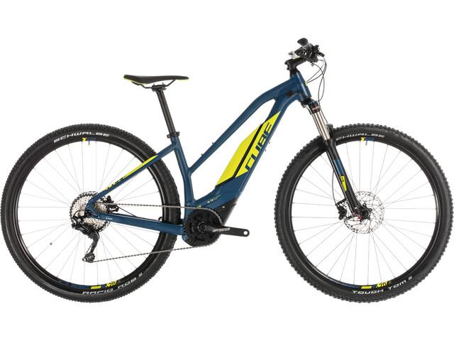 Cube Acid Hybrid Pro 400 E-mountainbike Trapez blå (2019) | City-cykler